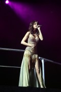 Selena Gomez performing at Bethel Woods Art Center in New York