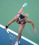 Bethanie Mattek Sands - Huge Boobs Show! + Upskirt - US Open 2009