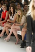 6d2666149728545 Ashley Greene and Chloe Moretz @ Calvin Klein Spring 2012 fashion show, Sept 15 high resolution candids