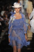 Miranda Kerr at John Galliano Spring-Summer 2012 Ready-To-Wear collection show, 2 October, x3
