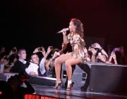 Rihanna during her concert 'Loud' Tour in Paris, 20 October, x21