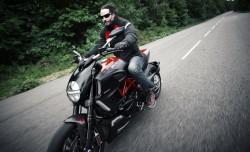 Keanu Reeves Ducati Diavel
