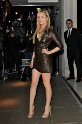 Laura Whitmore at the BRIT Awards Nominations Party at the Savoy Hotel in London 12th January x8