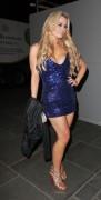 Аманда Харингтон, фото 33. Amanda Harrington – Outside Anaya Nightclub – London – Jan. 12, 2012, foto 33