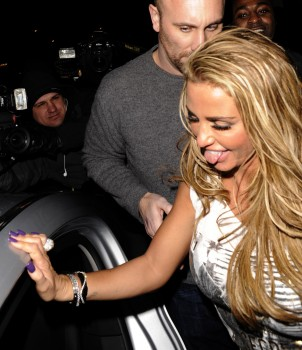 Katie Price Out in London 7th February x11