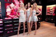 Adriana Lima, Doutzen Kroes, & Lindsay Ellingson @ Victorias Secret's V-Day Event, Soho, NY, Feb 8 2012