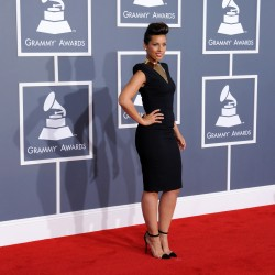 Алиша Киз (Алисия Кис), фото 3070. Alicia Keys 54th annual Grammy Awards - 12/02/2012 - Red Carpet, foto 3070