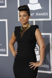 Алиша Киз (Алисия Кис), фото 3053. Alicia Keys 54th annual Grammy Awards - 12/02/2012 - Red Carpet, foto 3053