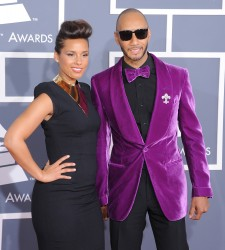 Алиша Киз (Алисия Кис), фото 3080. Alicia Keys 54th annual Grammy Awards - 12/02/2012 - Red Carpet, foto 3080