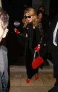 Мадонна (Луиза Чикконе Ричи), фото 1212. Madonna (Louise Ciccone Ritchie) - leaving the W.E. afterparty at the Arts Club in London, 12.01.2012, foto 1212