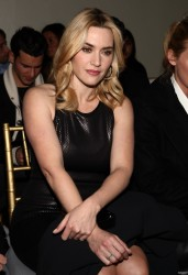 Kate Winslet - St. John  Front Row: Fall 2012 Mercedes-Benz Fashion Week - 02.10.12 - HQ's