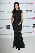 Ким Кардашиан, фото 7962. Kim Kardashian Elton John AIDS Foundation Academy Awards Party - 02/26/12*with sister Kourtney, foto 7962,