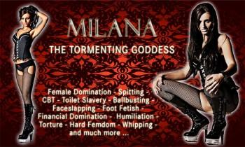 Goddess Milana - Painfull Bootcleaning